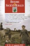 Bernard Bodinier et Philippe Grandcoing - Histoire & Sociétés Rurales N° 33, 1er semestre : .