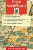 Jean-Marc Moriceau - Histoire & Sociétés Rurales N° 49, 1er semestre  : .