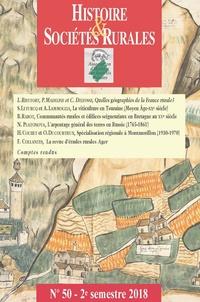 Histoire & Sociétés Rurales N° 50, 2e semestre 2.pdf