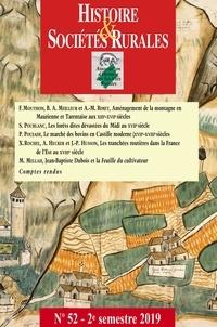 Jean-Marc Moriceau - Histoire & Sociétés Rurales N° 52, 2e semestre 2 : .