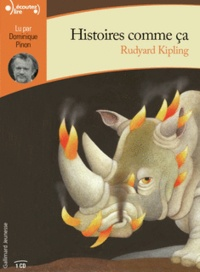 Rudyard Kipling - Histoires comme ça. 1 CD audio MP3