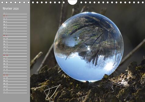 Hommage à la boule de verre (Calendrier mural 2020 DIN A4 horizontal). Le monde est rond comme une boule de verre. (Calendrier anniversaire, 14 Pages )