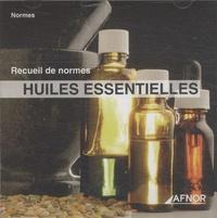 AFNOR - Huiles essentielles - CD-ROM.