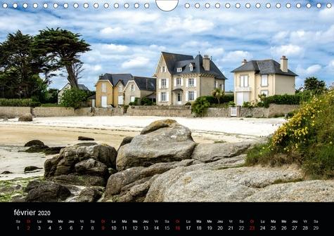 Impressions de Bretagne (Calendrier mural 2020 DIN A4 horizontal). La Bretagne, le pays entouré par la mer (Calendrier mensuel, 14 Pages )