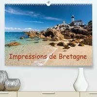 Klaus Hoffmann - Impressions de Bretagne(Premium, hochwertiger DIN A2 Wandkalender 2020, Kunstdruck in Hochglanz) - La Bretagne, le pays entouré par la mer (Calendrier mensuel, 14 Pages ).