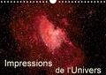 K.a. Monarchc - Impressions de l'Univers (Calendrier mural 2020 DIN A4 horizontal) - Photos d'étoiles, de galaxies et de nébuleuses (Calendrier mensuel, 14 Pages ).