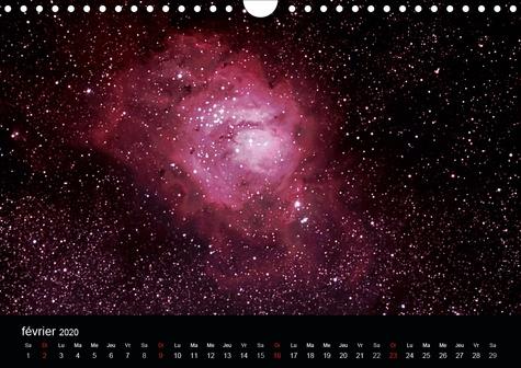 Impressions de l'Univers (Calendrier mural 2020 DIN A4 horizontal). Photos d'étoiles, de galaxies et de nébuleuses (Calendrier mensuel, 14 Pages )