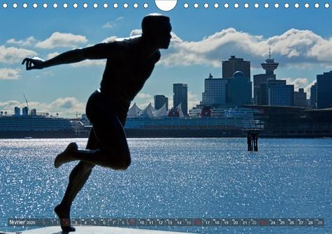 Impressions de Vancouver (Calendrier mural 2020 DIN A4 horizontal). Une destination de vacances populaire (Calendrier mensuel, 14 Pages )