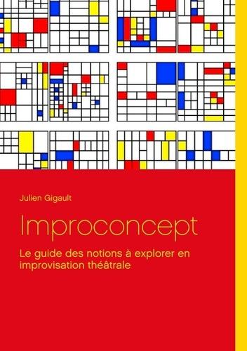 Julien Gigault - Improconcept - Le guide des notions à explorer en improvisation théâtrale.