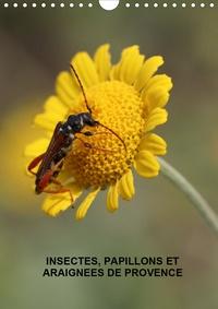 Martine Julien - Insectes, papillons et araignées de Provence (Calendrier mural 2020 DIN A4 vertical) - Les insectes, papillons et araignées de nos belles prairies (Calendrier mensuel, 14 Pages ).