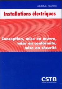 CSTB - Installations électriques - CD-ROM.