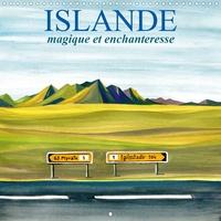 André Baldet - ISLANDE magique et enchanteresse (Calendrier mural 2020 300 × 300 mm Square) - Un voyage en peintures dans les merveilleux paysages d'Islande (Calendrier mensuel, 14 Pages ).