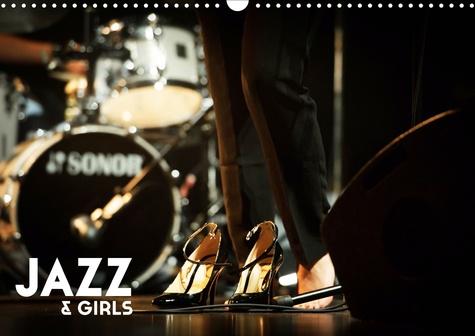 Jazz & Girls (Calendrier mural 2020 DIN A3 horizontal). le jazz conjugué au féminin (Calendrier mensuel, 14 Pages )