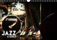 Hervé Le Gall - Jazz & Girls (Calendrier mural 2020 DIN A4 horizontal) - le jazz conjugué au féminin (Calendrier mensuel, 14 Pages ).