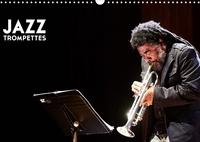Hervé Le Gall - Jazz Trompettes (Calendrier mural 2020 DIN A3 horizontal) - une année au rythme du jazz et de la trompette (Calendrier mensuel, 14 Pages ).