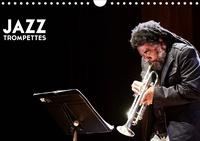 Hervé Le Gall - Jazz Trompettes (Calendrier mural 2020 DIN A4 horizontal) - une année au rythme du jazz et de la trompette (Calendrier mensuel, 14 Pages ).