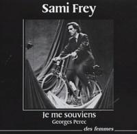 Georges Perec et Sami Frey - Je me souviens - CD audio.