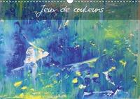 Heiner Lammers - Jeux de couleurs (Calendrier mural 2020 DIN A3 horizontal) - Art abstrait multicolore (Calendrier mensuel, 14 Pages ).