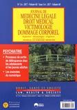 Michel Botbol - Journal de médecine légale Volume 60 N° 5-6/201 : Psychiatrie.