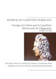 Claude Briot - Journal de navigation du capitaine Michel Dubocage - Voyage à Amoy (Xiamen) par le Cap-Horn, découverte de l'île de la Passion (1707-1716).