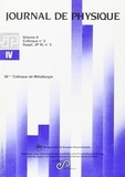 EDP Sciences - Journal de physique N° 6 : 38e colloque de métallurgie de l'INSTN - Les intermétalliques.