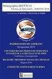 François Bonnel et Bruno Ferré - Journée de spécialités - SOFCOT 2016 - Pathologies du Lisfranc ; Couverture des pertes de substance cutanée de la cheville et du pied ; Registre prothèse totale de cheville ; Communications particulières.