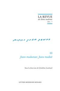 Geraldine Lombard et Patrick Marot - Jouve traducteur, Jouve traduit.
