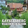 Thomas Bartruff - Kaysersberg - petit bijou au cœur de l'Alsace (Calendrier mural 2020 300 × 300 mm Square) - Quelques clichés de la ville natale d'Albert Schweitzer (Calendrier mensuel, 14 Pages ).
