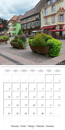Kaysersberg - petit bijou au cœur de l'Alsace (Calendrier mural 2020 300 × 300 mm Square). Quelques clichés de la ville natale d'Albert Schweitzer (Calendrier mensuel, 14 Pages )
