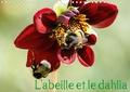 Daniel Illam - L'abeille et le dahlia (Calendrier mural 2020 DIN A4 horizontal) - Le dahlia et l'abeille en parfaite symbiose. (Calendrier mensuel, 14 Pages ).
