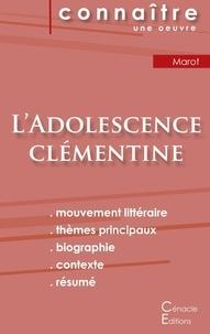Clément Marot - L'adolescence clémentine - Fiche de lecture.
