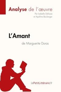 Isabelle Defossa et Apolline Boulanger - L'Amant de Marguerite Duras.