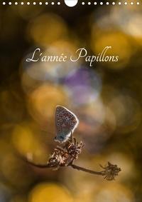 Cécile Gans - L'année Papillons (Calendrier mural 2020 DIN A4 vertical) - Calendrier illustré ayant pour thème les papillons (Calendrier mensuel, 14 Pages ).