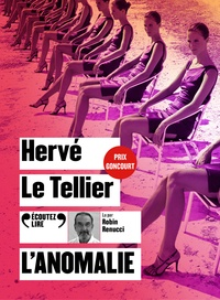 Hervé Le Tellier - L'anomalie. 1 CD audio MP3