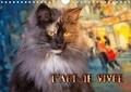 Viktor Gross - L'ART DE VIVRE (Calendrier mural 2020 DIN A4 horizontal) - L'art de vivre des chats des forêts norvégiennes (Calendrier anniversaire, 14 Pages ).