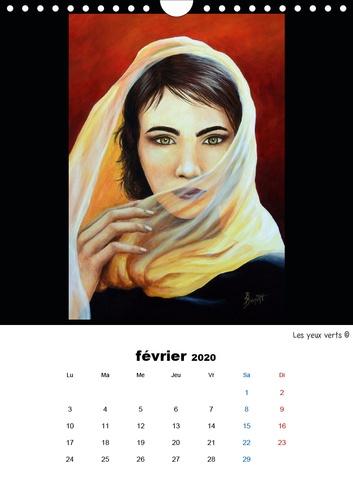 L'art et les femmes (Calendrier mural 2020 DIN A4 vertical). Les femmes dans l'art (Calendrier mensuel, 14 Pages )