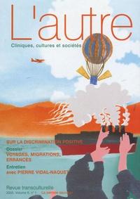 Claire Mestre et Felicia Heidenreich - L'autre N° 16/2005 : Voyages, migration, errances.