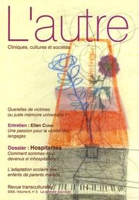 Françoise Giraud et Viva Iny - L'autre N° 18/2005 : Hospitalités.