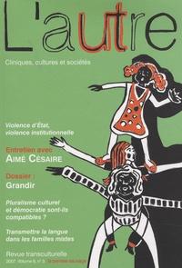 Thierry Baubet et Taïeb Ferradji - L'Autre N° 24/2007 : Grandir.
