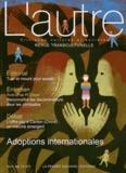 Claire Mestre et Aurélie Harf - L'autre N° 38/2012 : Adoptions internationales.