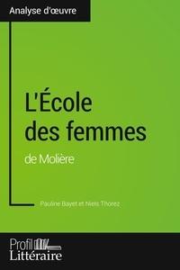 Pauline Bayet et Niels Thorez - L'Ecole des femmes de Molière.
