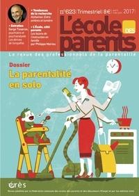 Anne Lanchon - L'école des parents N° 623, Avril-mai-ju : La parentalité en solo.