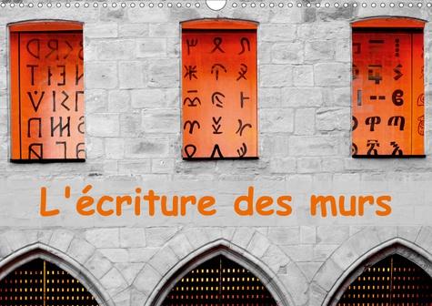 L'écriture des murs (Calendrier mural 2020 DIN A3 horizontal). Photographies d'écritures sur des murs (Calendrier mensuel, 14 Pages )