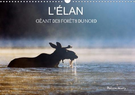L'ÉLAN – GÉANT DES FORÊTS DU NORD (Calendrier mural 2020 DIN A3 horizontal). Les quatre saisons de l'élan (Calendrier mensuel, 14 Pages )