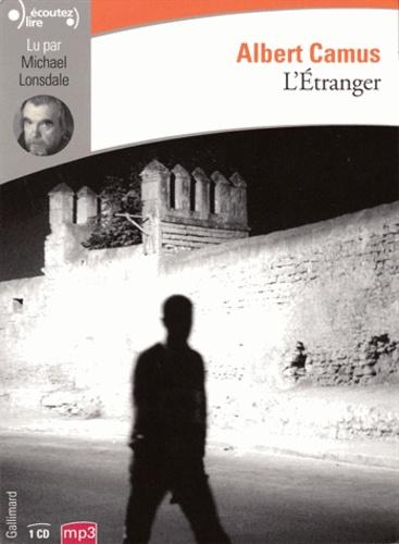 Albert Camus - L'Etranger. 1 CD audio MP3