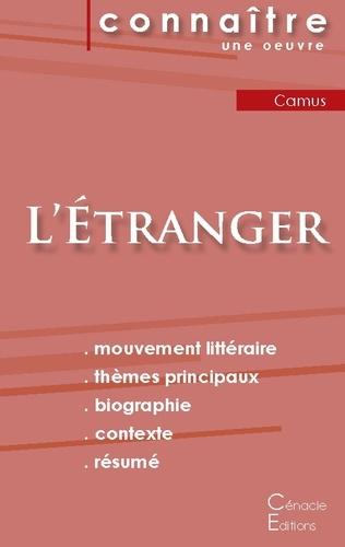 Albert Camus - L'Etranger - Fiche de lecture.