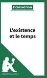 Etienne Hacken - L'existence et le temps (fiche notion) - Comprendre la philosophie.