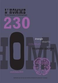 Caterina Guenzi - L'Homme N° 230, avril/juin 2 : .