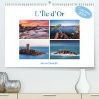 Michel Cavalier - L'île d'Or (Calendrier supérieur 2020 DIN A2 horizontal) - Parmi les plus beaux sites de France, la tour de l'Île d'Or sur le littoral Varois (Calendrier mensuel, 14 Pages ).