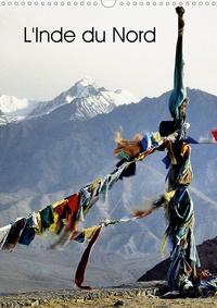 Patrick Bombaert - L'Inde du Nord (Calendrier mural 2020 DIN A3 vertical) - Le Cachemire et le Ladakh, deux régions au nord de l'Inde. (Organiseur, 14 Pages ).
